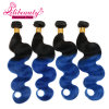 Peruvian Virgin Hair Ombre Human Hair Extensions