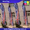 Знамя индикации верхнего качества изготовленный на заказ, рекламируя знамя, знамена флага пера
