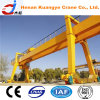 Rail largo Traveling Double Girder Gantry Crane con Hook