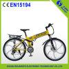 Bicicleta elétrica a pilhas da montanha do lítio