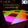 diodo emissor de luz profissional Digital Dance Floor da versão de 1*1m para a luz do banquete de casamento