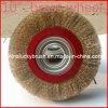 Escova amarela da roda do fio de aço de 10 polegadas (YY-116)