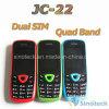 鍵を開けられた電話Jc-22は携帯電話SIMのクォードバンド二倍になる