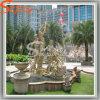 La piedra artificial de las estatuas del jardín del extracto de la decoración del parque de atracciones del diseño del paisaje hace la escultura a mano
