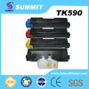 Copiadora compatible del toner del color de la impresora laser para Tk590