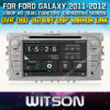 Witson Car DVD para Galaxy Car 2011-2012 DVD GPS 1080P DSP Capactive Screen WiFi 3G Front DVR Camera