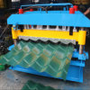 Rullo lustrato dello strato del tetto del metallo delle mattonelle che forma macchina