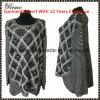 Оптовым верхним шток свитера втулки шеи повелительниц Fahional круглым длинним связанный пуловером (9131#)