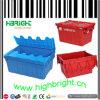 Contenitore logistico di plastica sistemabile