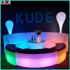 Conjunto de mobiliário iluminado LED LED exterior