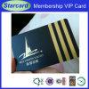 Cartão do VIP da sociedade do negócio com revestimento do desenho do fio