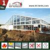 Grande barraca de Tranpsarent com as paredes de vidro para o Congresso Anual da companhia