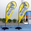Bandeira de Teardroop da promoção da impressão de Digitas da alta qualidade para o evento da competição de esporte