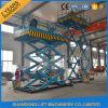 Stationäre hydraulische Scissor Ladung-Aufzug-Plattform