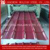 Chapa de aço ondulada galvanizada revestida cor para a telhadura