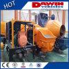 bomba de pulverização concreta molhada do reboque 10m3/Hour para o funcionamento do túnel