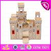 木のChildren Castle Toy、CanはKid (W06A035)によって行うアセンブル