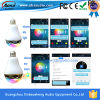 Beste APP Multicolor 9W Bluetooth LED Bulb Speaker mit CE&RoHS