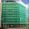 Réseau de construction de construction de couleur verte de couverture