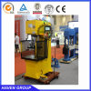 Abrir la máquina de acero de la prensa hidráulica de la prensa hidráulica el C
