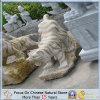 Personalizzare la scultura naturale dell'animale della pietra del granito di Vaiours