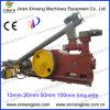 2 de Korrel van de Biomassa Ton/H en de Machine van de Briket
