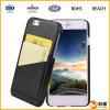 Cubierta de cuero de las cajas del teléfono móvil de la PU para el iPhone 6s