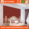 Романтичная спальня Wallcovering с подгоняно