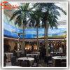 Palmeira artificial do coco da decoração do hotel