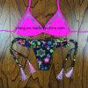 2016 Form-Großverkauf-rosafarbene Badebekleidungs-reizvoller Bikini