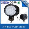 inundación de la luz del trabajo de la máquina del CREE LED de 4597lumens 36W 12V/24V/viga de punto