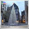 Luz ao ar livre quadrada das árvores de Natal do diodo emissor de luz do ano novo da decoração