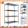 4 Reihe-Haus-Büro-Wandschrank-Speicher-Draht-Regal-Standplatz-Gerät (Zhw55)