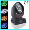 36*10W RGBW 4 em 1 diodo emissor de luz Moving Head Light com Zoom