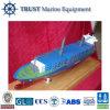 Navire porte-conteneurs modèle en bois de simulation de Veille de la toussaint