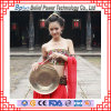 Gong en laiton de la musique immémoriale de la Chine