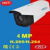 3MP appareil-photo infrarouge en temps réel d'IP de sécurité de balle de la télévision en circuit fermé P2P
