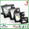 최신 판매 PIR 센서 LED 옥외 빛 LED 플러드 빛