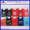 Portatarjetas de encargo del teléfono móvil del silicón de la insignia (EP-H58403)