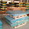 Alto desgaste del bastidor de la trituradora del acero de manganeso - piezas resistentes