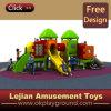 二重タワーの幼児(X1511-7)のための屋外のプラスチックスライドの幼稚園装置