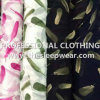 OEM chiffon 100% di 75D Printed Polyester New Flower