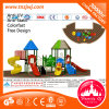 Childrenのための安全なStandard Outdoor Playground Plastic Outdoor Play