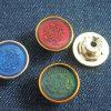 Изготовленный на заказ круглые кнопки заклепки металла джинсовой ткани способа