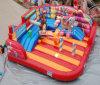 Train gonflable de cirque d'amusement d'acclamation