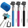 Alta qualità Wholesale Wired Selfie Stick con Cable per Samsung/Apple