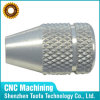 Pièces de précision en aluminium avec l'usinage de finition de moletage
