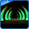 Éclairage LED Inflatable Tube et Cone, Inflatable Wedding Decoration Tusk