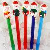 サンタクロースChristmas Gift Pen Polymer Clay Pen (OEM LOGO Printingは使用できる)