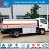 Caminhão de combustível da capacidade 6cbm 8cbm de Dongfeng 4*2
